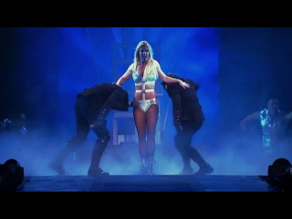 Britney Spears - Live The Femme Fatale Tour (Hold It Against Me)